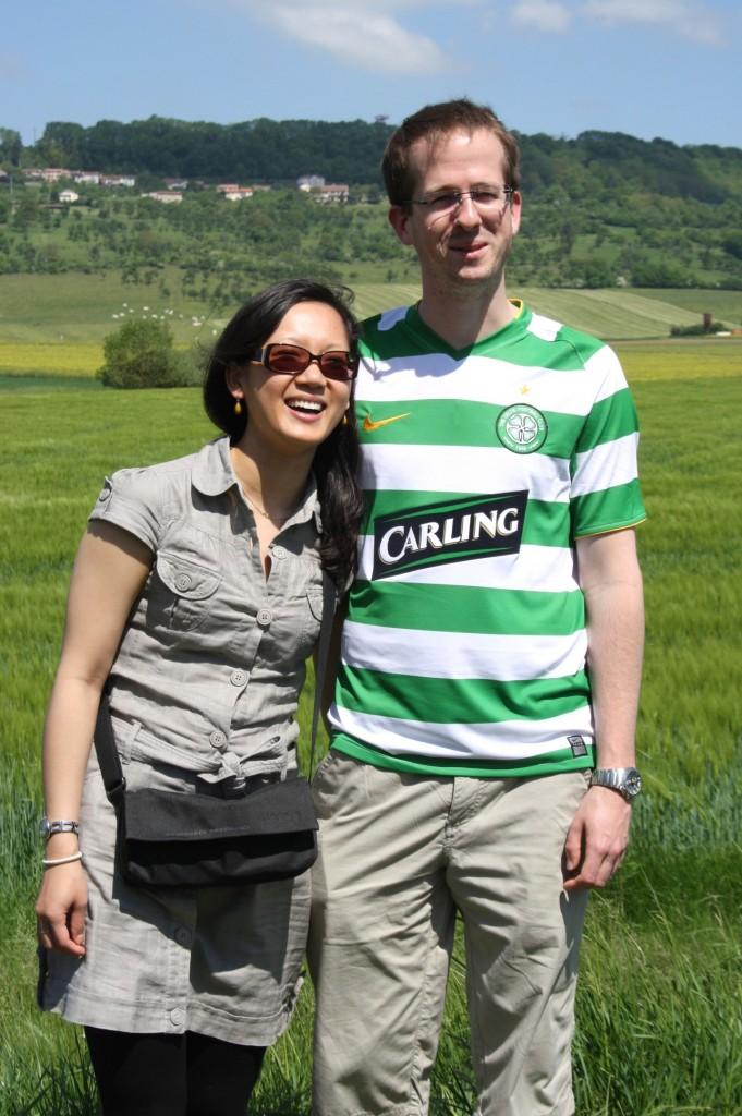 Nicolas Visine et sa femme