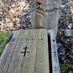 volet à la croix de Lorraine