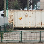 La benne à déchets