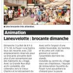 1 juillet 2016 brocante