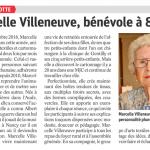 13 janvier 2017 Marcelle Villeneuve