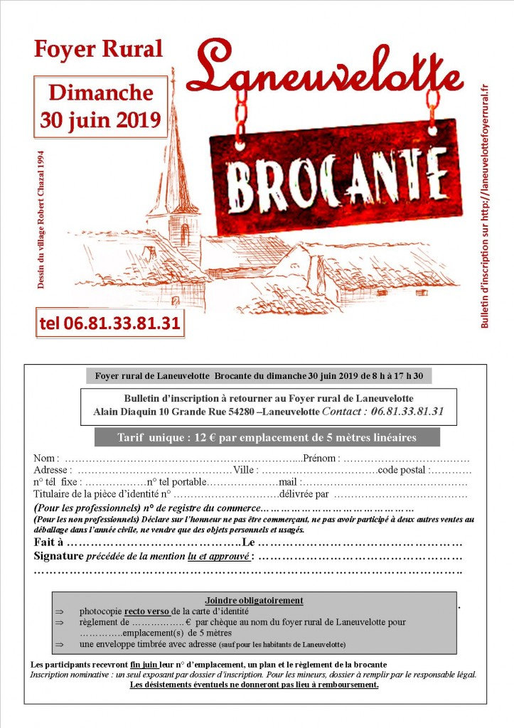 brocante 2019